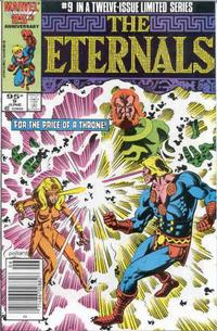 Cover Thumbnail for Eternals (Marvel, 1985 series) #9 [Canadian Newsstand Edition]