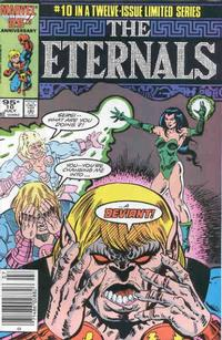 Cover Thumbnail for Eternals (Marvel, 1985 series) #10 [Canadian Newsstand Edition]
