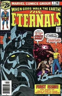 Cover Thumbnail for The Eternals (Marvel, 1976 series) #1 [25¢]