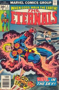 Cover Thumbnail for The Eternals (Marvel, 1976 series) #3 [Regular Edition]