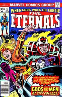Cover Thumbnail for The Eternals (Marvel, 1976 series) #6 [Regular Edition]