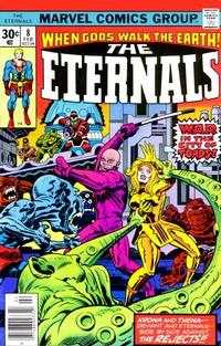 Cover Thumbnail for The Eternals (Marvel, 1976 series) #8 [Regular Edition]