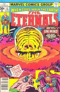 Cover Thumbnail for The Eternals (Marvel, 1976 series) #12 [30¢ Cover Price]