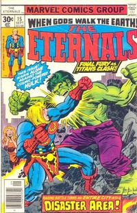 Cover Thumbnail for The Eternals (Marvel, 1976 series) #15 [30¢ Cover Price]
