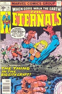 Cover Thumbnail for The Eternals (Marvel, 1976 series) #16 [30¢ Cover Price]