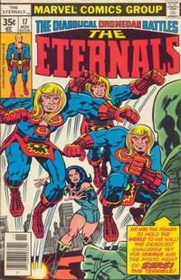 Cover Thumbnail for The Eternals (Marvel, 1976 series) #17 [Regular Edition]