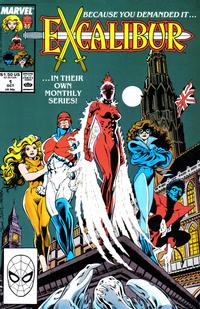 Cover Thumbnail for Excalibur (Marvel, 1988 series) #1 [Direct]