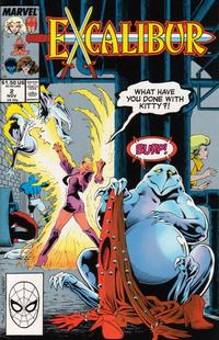 Cover Thumbnail for Excalibur (Marvel, 1988 series) #2 [Direct]