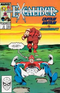 Cover Thumbnail for Excalibur (Marvel, 1988 series) #3 [Direct]