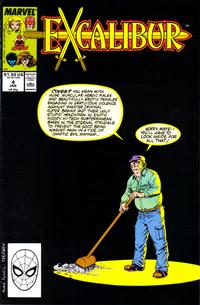 Cover Thumbnail for Excalibur (Marvel, 1988 series) #4 [Direct]