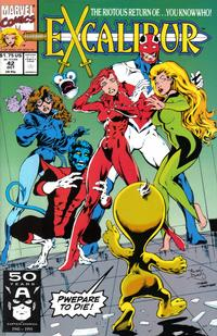 Cover Thumbnail for Excalibur (Marvel, 1988 series) #42 [Direct]