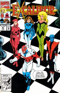 Cover Thumbnail for Excalibur (Marvel, 1988 series) #47 [Direct]