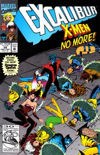 Cover Thumbnail for Excalibur (Marvel, 1988 series) #58 [Direct]