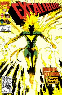 Cover Thumbnail for Excalibur (Marvel, 1988 series) #61 [Direct]