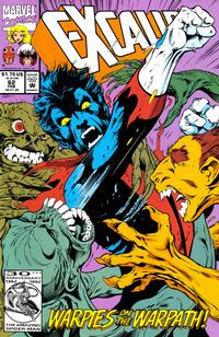 Cover Thumbnail for Excalibur (Marvel, 1988 series) #62 [Direct]