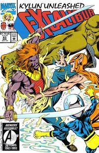 Cover Thumbnail for Excalibur (Marvel, 1988 series) #63 [Direct]