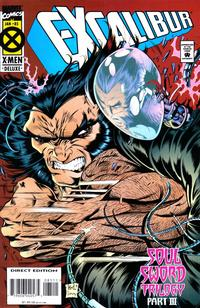 Cover Thumbnail for Excalibur (Marvel, 1988 series) #85 [Deluxe Direct Edition]