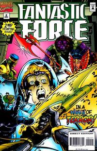 Cover Thumbnail for Fantastic Force (Marvel, 1994 series) #2 [Direct Edition]