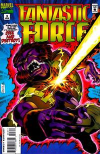 Cover Thumbnail for Fantastic Force (Marvel, 1994 series) #3 [Direct Edition]