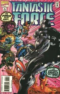 Cover Thumbnail for Fantastic Force (Marvel, 1994 series) #4 [Direct Edition]