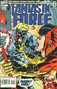 Cover Thumbnail for Fantastic Force (Marvel, 1994 series) #5 [Direct Edition]
