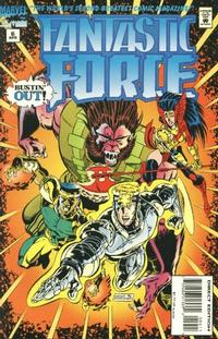 Cover Thumbnail for Fantastic Force (Marvel, 1994 series) #6 [Direct Edition]