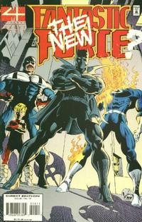 Cover for Fantastic Force (Marvel, 1994 series) #10