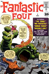 Cover Thumbnail for Fantastic Four (Marvel, 1961 series) #1