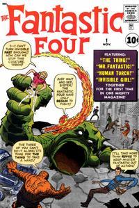 Cover Thumbnail for Fantastic Four (Marvel, 1961 series) #1