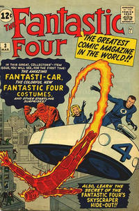 Cover Thumbnail for Fantastic Four (Marvel, 1961 series) #3 [Regular Edition]