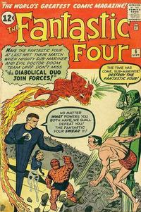 Cover Thumbnail for Fantastic Four (Marvel, 1961 series) #6 [Regular Edition]