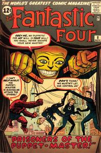 Cover Thumbnail for Fantastic Four (Marvel, 1961 series) #8 [Regular Edition]
