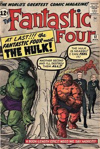Cover Thumbnail for Fantastic Four (Marvel, 1961 series) #12 [Regular Edition]