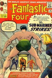 Cover Thumbnail for Fantastic Four (Marvel, 1961 series) #14 [Regular Edition]