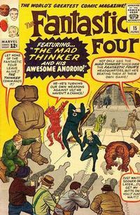 Cover Thumbnail for Fantastic Four (Marvel, 1961 series) #15 [Regular Edition]