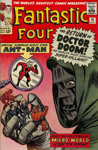 Cover Thumbnail for Fantastic Four (Marvel, 1961 series) #16 [Regular Edition]