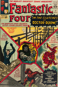 Cover Thumbnail for Fantastic Four (Marvel, 1961 series) #17 [Regular Edition]