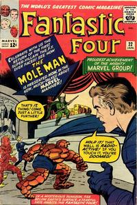 Cover Thumbnail for Fantastic Four (Marvel, 1961 series) #22 [Regular Edition]