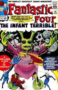 Cover Thumbnail for Fantastic Four (Marvel, 1961 series) #24 [Regular Edition]