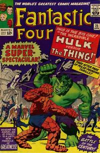 Cover Thumbnail for Fantastic Four (Marvel, 1961 series) #25 [Regular Edition]