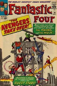 Cover Thumbnail for Fantastic Four (Marvel, 1961 series) #26 [Regular Edition]
