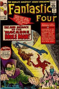 Cover Thumbnail for Fantastic Four (Marvel, 1961 series) #31 [Regular Edition]