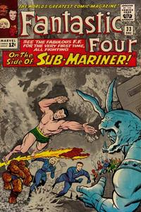 Cover Thumbnail for Fantastic Four (Marvel, 1961 series) #33