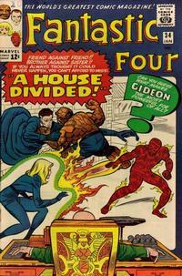 Cover Thumbnail for Fantastic Four (Marvel, 1961 series) #34