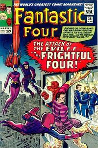 Cover Thumbnail for Fantastic Four (Marvel, 1961 series) #36