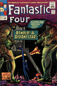 Cover Thumbnail for Fantastic Four (Marvel, 1961 series) #37