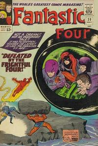 Cover for Fantastic Four (Marvel, 1961 series) #38