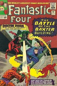 Cover for Fantastic Four (Marvel, 1961 series) #40