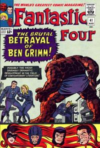 Cover Thumbnail for Fantastic Four (Marvel, 1961 series) #41