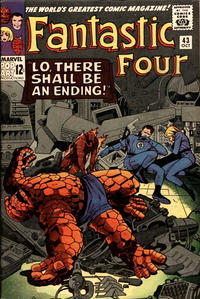 Cover Thumbnail for Fantastic Four (Marvel, 1961 series) #43 [Regular Edition]